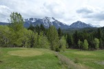 Golf with Mt Truax